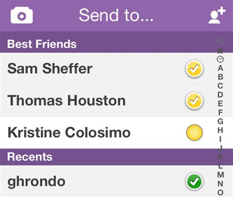 snapchat best friends list famous people names snapchat quotes