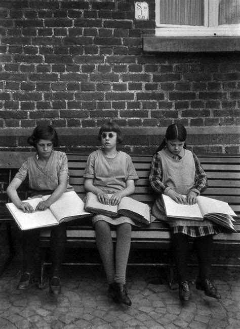 Read Blind Young Blind Girls Reading Braille Photography Faves