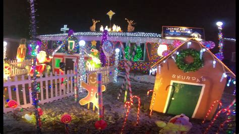 extreme christmas lights warren michigan walkthrough youtube