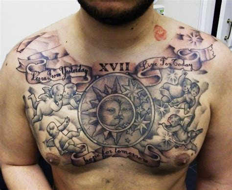 impressive chest tattoos for men tattoos for men