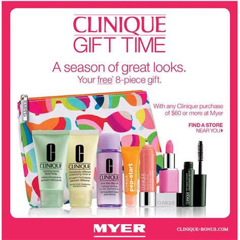 current upcoming free offers clinique bonus time