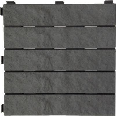 rubber pavers home depot multy home 12 in x 12 in slate rubber deck tile 144