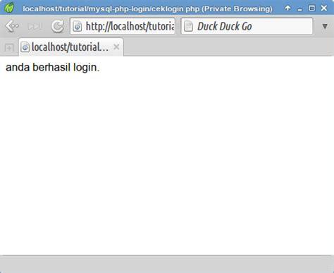 membuat login dengan php mysqli eplusgo membuat script login sederhana dengan php dan mysqli