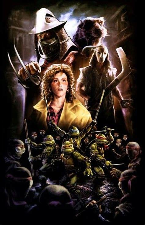film entier ninja turtles tmnt 1990 movie poster tmnt pinterest the o jays