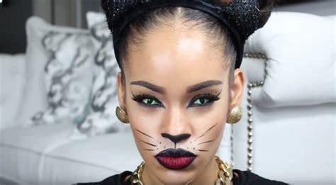 cat makeup tutorial halloween cat eye makeup tutorials that you can master
