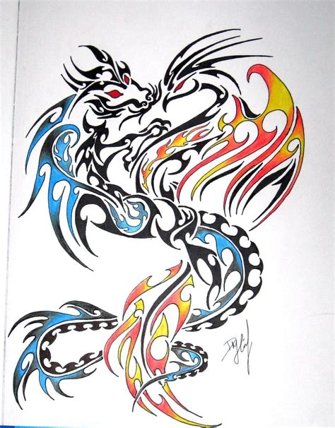 phoenix x dragon pictures to pin on pinterest tattooskid