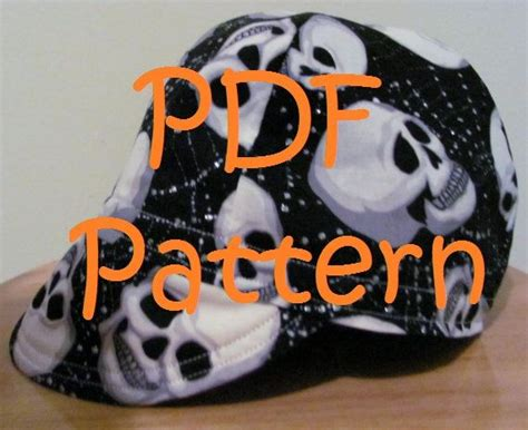 pattern to sew a welding cap 13 best welders cap images on pinterest sewing crafts