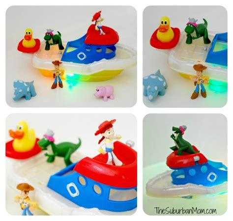 toy story bathtub party bath time fun with the toy story gang review