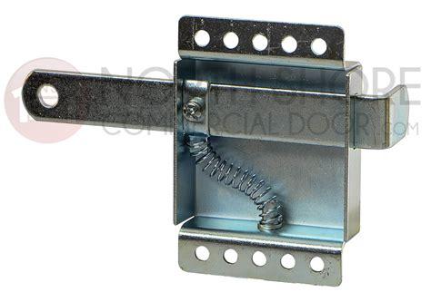 universal garage door side lock     track