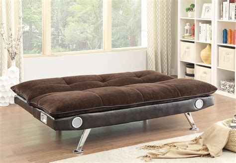 futon with speakers sofa beds and futons sofa bed with built in bluetooth