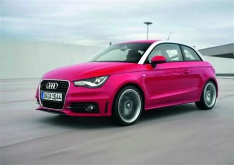 Audi A1 Pink by Audi A1 And Its Pink Pink Vehicles