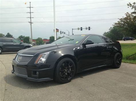 cadillac cts 2 door for sale buy used 2012 cadillac cts v coupe 2 door 6 2l in hiawatha