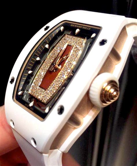richard mille rm007 automatic white ceramic with gold new gr luxury singapore