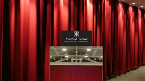 soundproof curtains for home theater gymnasium acoustics acoustical curtains