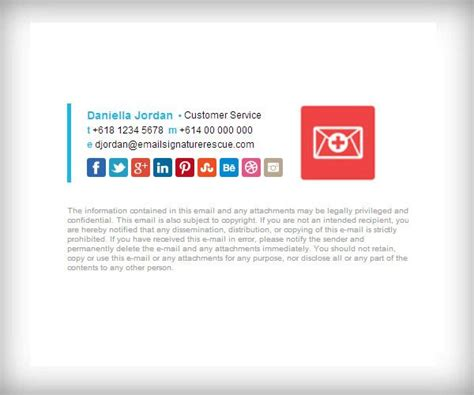 layout of email signature exle horizontal bar template with 100x100 logo