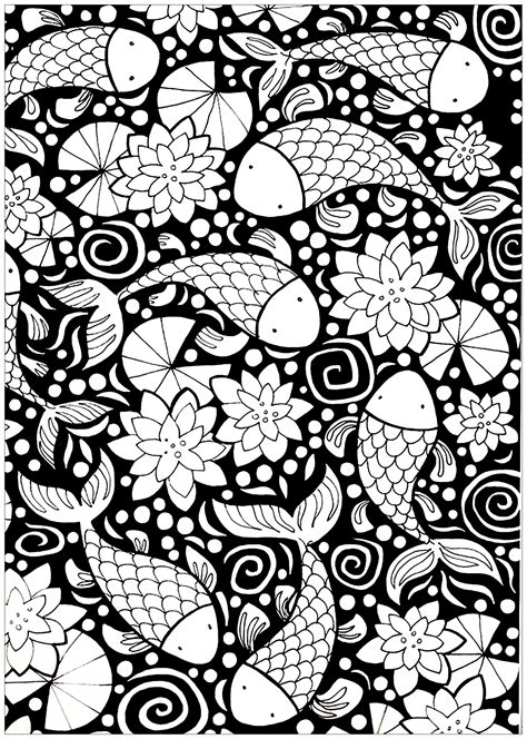 dark background coloring pages  adults