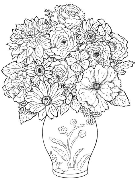 coloring pages of real flowers 127 best images about coloring pages flowers on