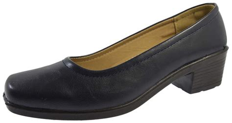 comfort shoes wide womens low block heels comfort court shoes wide fitting