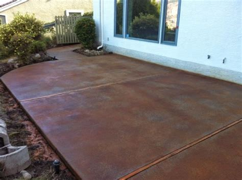 Staining Patio Pavers Patio Paver Lovely Acid Staining Concrete Patios For Large Format Paving Slabs Along Side