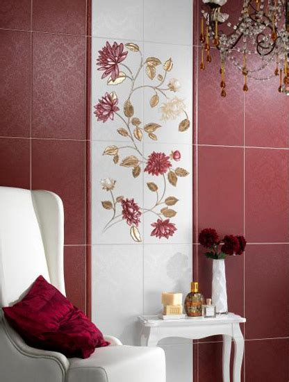 ways to decorate bathroom hand painted wall tiles simple ways to decorate old
