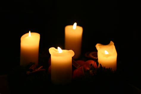 free stock photo of candlelight candles christmas