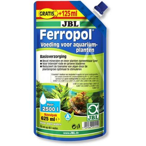 Jbl Ferropol jbl ferropol navulling 625 ml welkom bij aquarium planten planten voeding