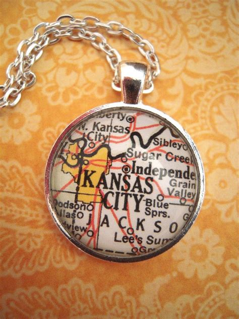 jewelry classes kansas city custom map jewelry kansas city missouri vintage map pendant