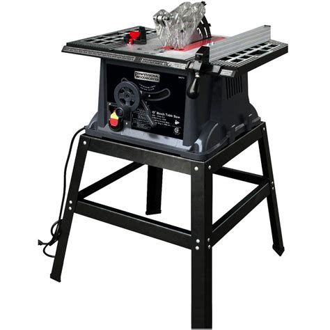 bench table saw professional woodworker 13 amp 10 in industrial bench