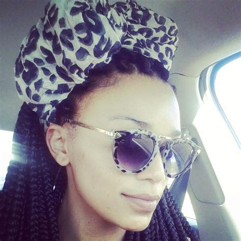 pearl thusi with braids pearl thusi s hair transition people magazine