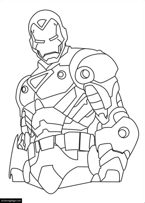 free coloring pages of marvel super hero
