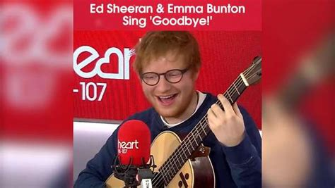 ed sheeran goodbye ed sheeran teams up with baby spice for epic one news