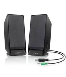 Best Small Desktop Computer Speakers Buy Creative Sbs A50 2 0 Mini Desktop Speakers Black