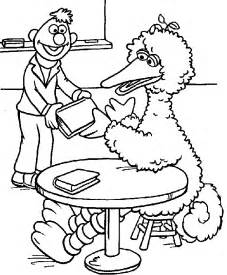 sesame street coloring pages coloring pages print