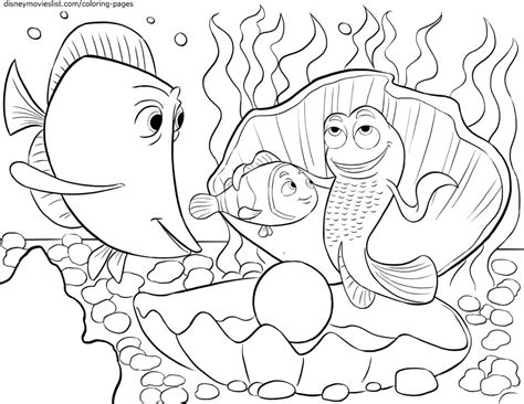 full size disney printable coloring pages disney s finding nemo coloring pages sheet free disney