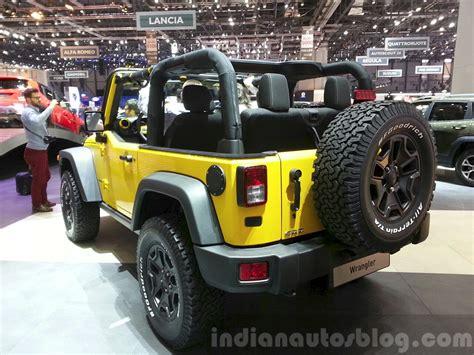 Jeep Rubicon Price In India 2015 Jeep Wrangler Rubicon Rocks Rear Three Quarters
