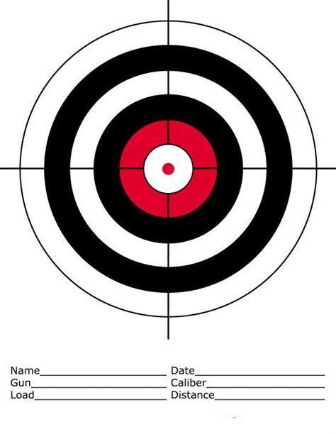 printable airgun targets pdf sand springs sportsman club