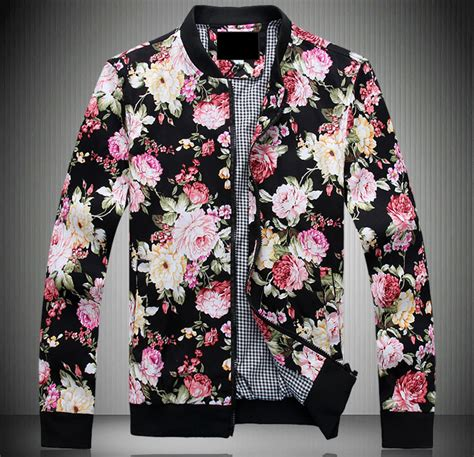 Bomber Jacket Floral Bigsize mens floral bomber jacket jackets review