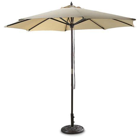 Patio Umbrella Guide Guide Gear 174 9 Patio Umbrella 216537 Patio Umbrellas At