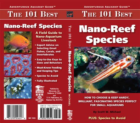 never look back 101 the about twelve books new book the 101 best nano reef species
