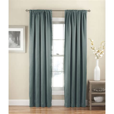 walmart window curtains eclipse arbor blackout window curtain panel walmart com