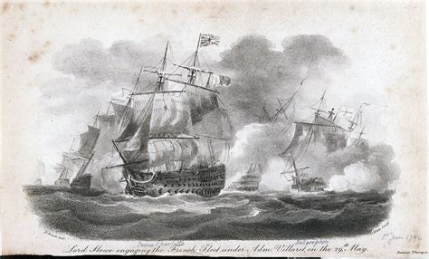 file howe engaging the french 1st june jpg wikimedia commons