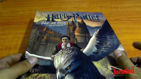 harry potter a pop up 1608870081 libro harry potter pop up book espa 241 ol youtube
