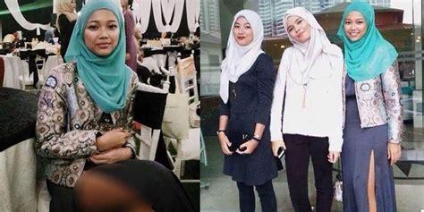 Stoking Paha Wanita pakai rok belahan sai paha hijabers malaysia dibully merdeka