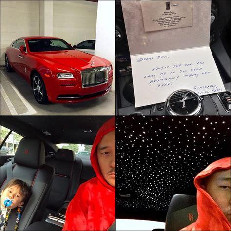 roll royce celebrity ben ballers not so average rental car celebrity cars blog