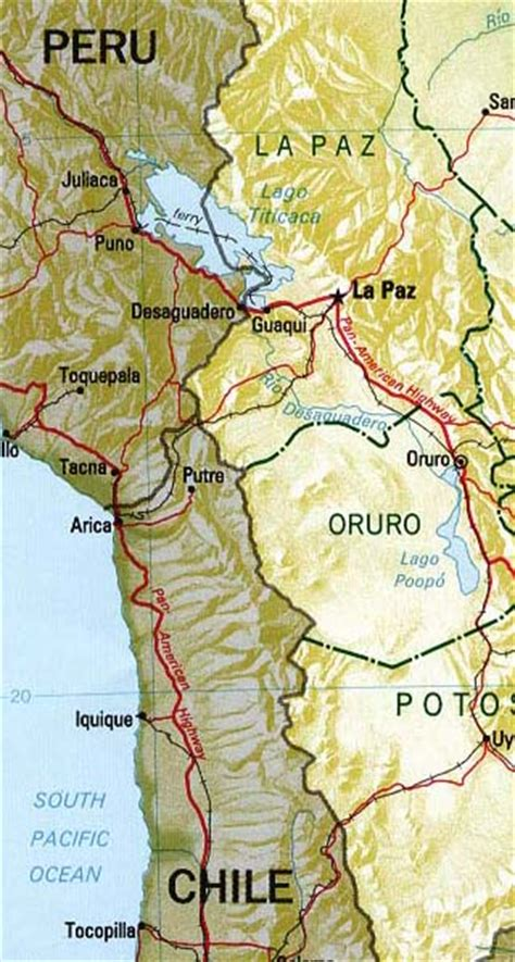 5 themes of geography uruguay bolivia maps including outline and topographical maps