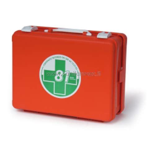 cassetta primo soccorso cassetta pronto soccorso fascia a e b d m 388 completa