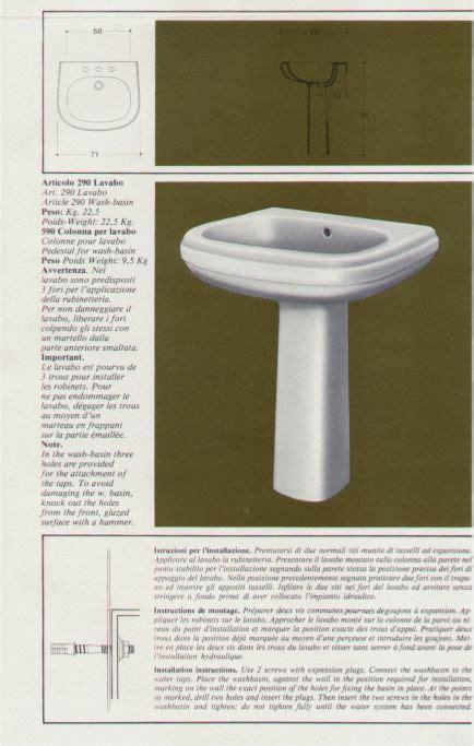 G Ci Ceramic Series serie gemma interno catalogo generale 1982 collezione
