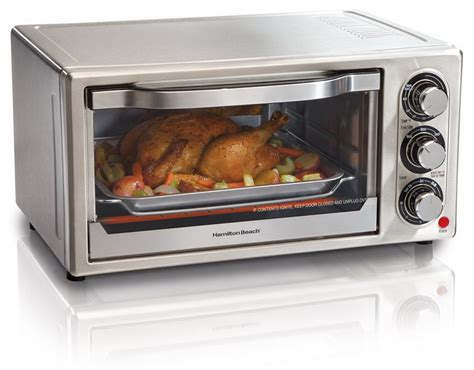 Chicken Nuggets In Toaster Oven hamilton 31511 stainless steel 6 slice toaster oven home