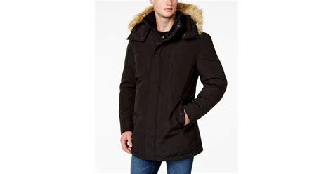 Newyork Rock Parka marc new york snorkel jacket in black for lyst