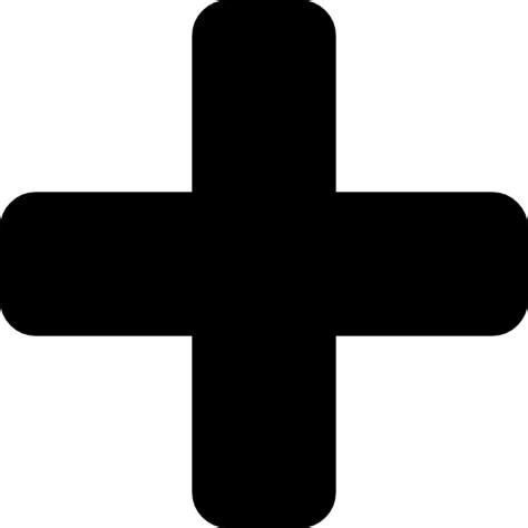The Sign Black interface signs symbols cross plus sign black